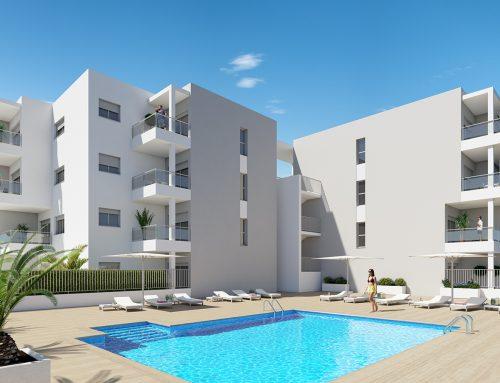 Promoción de 80 apartamentos. El Médano